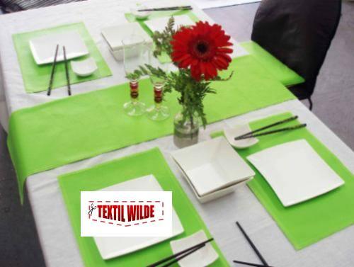 Manteles individuales en cuero ecologico ecocuero - Manteles y caminos de mesa ...