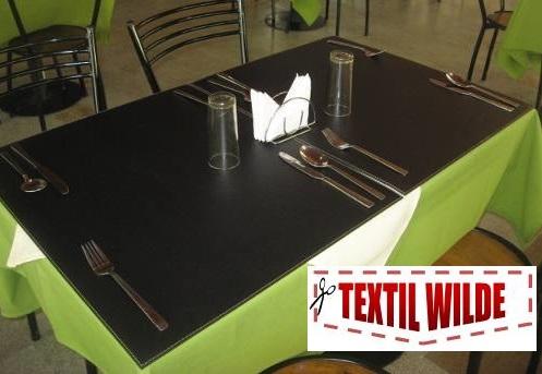Manteles en cuero ecologico cuerina ecocuero con felpa - Manteles mesa rectangular ...