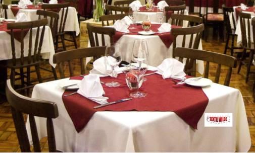 Manteles para mesa mantel redondo d cm idale miel mantel - Manteles mesas grandes ...